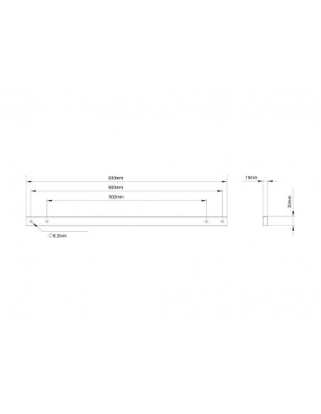 Multibrackets M Pro Series - Extender kit 600 Multibrackets 7350073734733 - 10