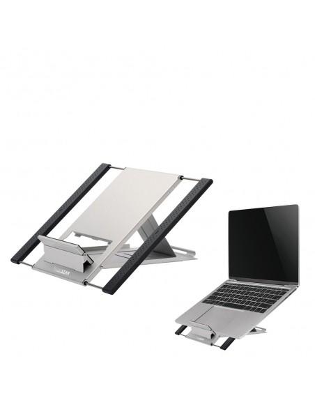 """Newstar NSLS100 Ställ för bärbara datorer 55.9 cm (22"""") Silver Newstar NSLS100 - 2"""