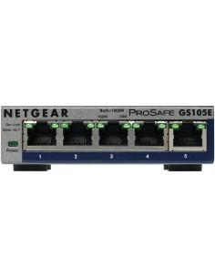 Netgear GS105E-200PES nätverksswitchar hanterad L2/L3 Gigabit Ethernet (10/100/1000) Grå Netgear GS105E-200PES - 1