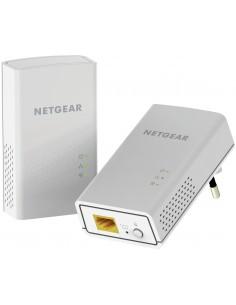 Netgear PowerLINE 1000 + WiFi Mbit/s Nätverksansluten (Ethernet) Wi-Fi Vit 2 styck Netgear PLW1000-100PES - 1