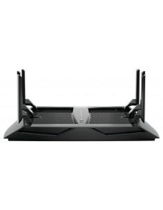 Netgear Nighthawk X6 AC3200 wireless router Gigabit Ethernet Tri-band (2.4 GHz / 5 GHz) Black Netgear R8000-100PES - 1