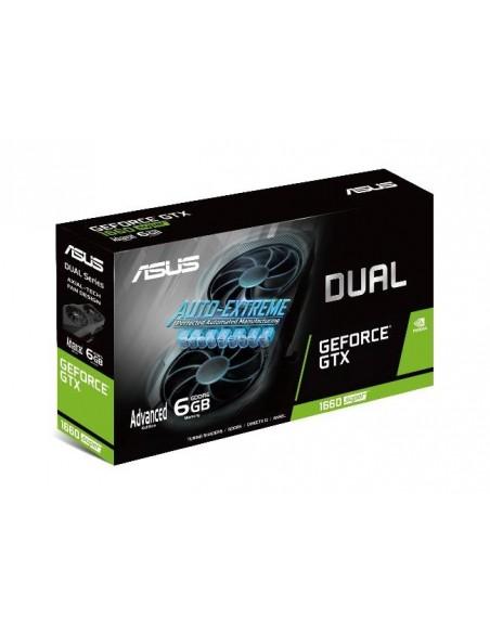 ASUS Dual -GTX1660S-A6G-EVO NVIDIA GeForce GTX 1660 SUPER 6 GB GDDR6 Asus 90YV0DS4-M0NA00 - 8