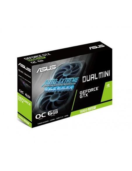 ASUS Dual -GTX1660S-O6G-MINI NVIDIA GeForce GTX 1660 SUPER 6 GB GDDR6 Asustek 90YV0DT4-M0NA00 - 12