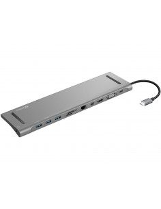 Sandberg USB-C All-in-1 Docking Station USB 3.2 Gen 1 (3.1 1) Type-C Silver Sandberg 136-23 - 1