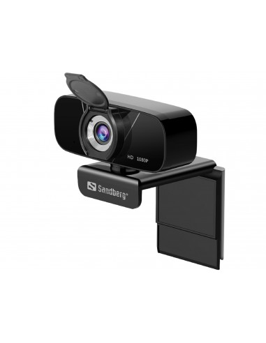 Sandberg 134-15 webbkameror 2 MP 1920 x 1080 pixlar USB 2.0 Svart Sandberg 134-15 - 1