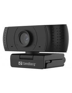 Sandberg 134-16 webbkameror 2 MP 1920 x 1080 pixlar USB 2.0 Svart Sandberg 134-16 - 1