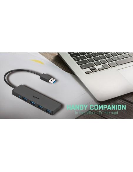 i-tec Advance U3HUB404 keskitin USB 3.2 Gen 1 (3.1 1) Type-A 5000 Mbit/s Musta I-tec Accessories U3HUB404 - 9