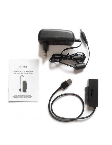 i-tec USB3STADA cable gender changer USB 3.0 SATA III Svart I-tec Accessories USB3STADA - 3