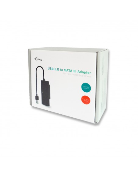 i-tec USB3STADA cable gender changer USB 3.0 SATA III Svart I-tec Accessories USB3STADA - 4