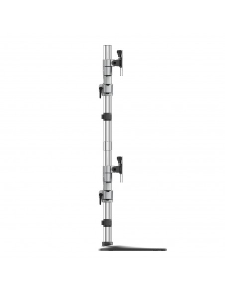 "StarTech.com Desktop Quad Monitor Stand - Ergonomic VESA 4 Arm (2x2) up to 32"" Free Standing Articulating Universal Pole Mount S"