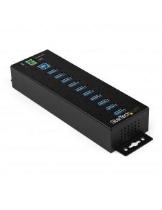 StarTech.com HB30A10AME keskitin USB 3.2 Gen 1 (3.1 1) Type-B 5000 Mbit/s Musta Startech HB30A10AME - 1