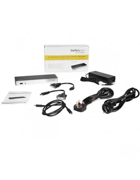 StarTech.com USB-C-docka med dubbla skärmar och MST - 5x USB 3.0-portar Startech MST30C2HHPDU - 8