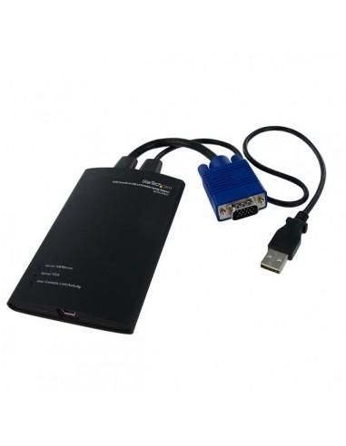StarTech.com KVM-enhet till USB 2.0 akutvagn-adapter för bärbara datorer Startech NOTECONS01 - 1