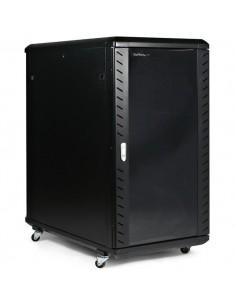 "StarTech.com 22U 36"" nedmonterbart serverskåp med hjul Startech RK2236BKF - 1"