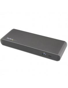 StarTech.com TB3DK2DPPDUE kannettavien tietokoneiden telakka ja porttitoistin Langallinen USB 3.2 Gen 1 (3.1 1) Type-C Musta Sta
