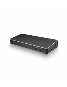 StarTech.com TB3DOCK2DPPU kannettavien tietokoneiden telakka ja porttitoistin Langallinen USB 3.2 Gen 1 (3.1 1) Type-C Musta Sta
