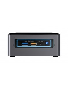 Intel NUC BOXNUC7I5BNHXF tietokone/työasema i5-7260U Mini-PC 7. sukupolven Intel® Core™ i5 4 GB DDR4-SDRAM 1000 HDD Windows 10 I