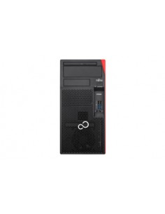 Fujitsu ESPRIMO P558 i3-9100 Micro Tower 9th gen Intel® Core™ i3 8 GB DDR4-SDRAM 256 SSD PC Black Fujitsu Technology Solutions V