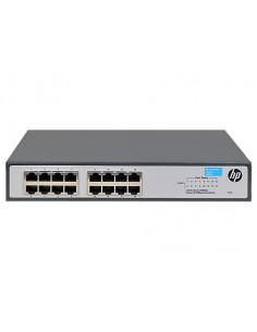 Hewlett Packard Enterprise OfficeConnect 1420 16G Hallitsematon L2 Gigabit Ethernet (10/100/1000) 1U Harmaa Hp JH016A - 1