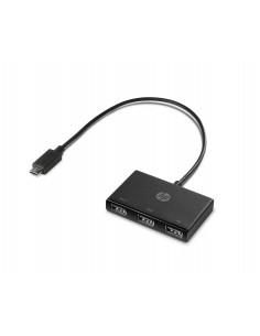 HP Z8W90AA USB 3.2 Gen 1 (3.1 1) Type-C 5000 Mbit/s Black Hp Z8W90AA#ABB - 1