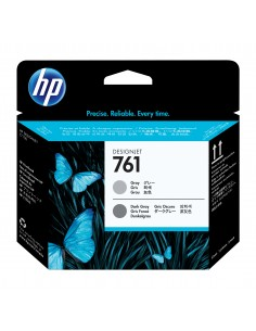 HP 761 Gray/Dark Gray DesignJet Printhead Hp CH647A - 1