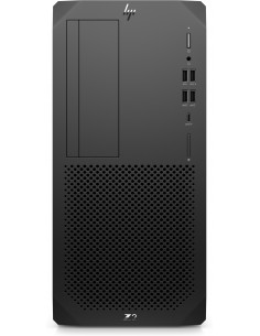 HP Z2 G5 i7-10700 Tower 10. sukupolven Intel® Core™ i7 16 GB DDR4-SDRAM 512 SSD Windows 10 Pro for Workstations Työasema Musta H