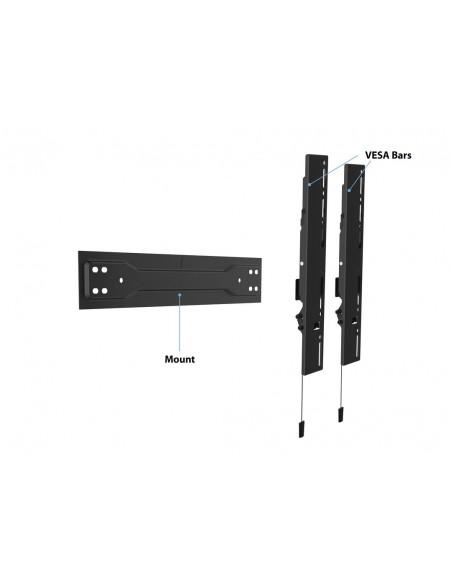 "Multibrackets 5532 tv-fäste 139.7 cm (55"") Svart Multibrackets 7350073735532 - 16"