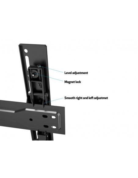 """Multibrackets 5532 TV-kiinnike 139.7 cm (55"""") Musta Multibrackets 7350073735532 - 17"""