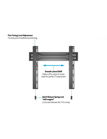 Multibrackets M VESA Wallmount Super Slim Fixed 400 MAX Multibrackets 7350073735556 - 11