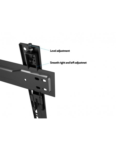 "Multibrackets 5556 tv-fäste 139.7 cm (55"") Svart Multibrackets 7350073735556 - 16"