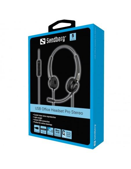Sandberg USB Office Headset Pro Stereo Sandberg 126-13 - 3