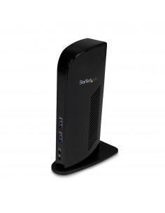 StarTech.com USB 3.0-dockningsstation för dubbla skärmar med HDMI - DVI 6 USB-portar Startech USB3SDOCKHD - 1