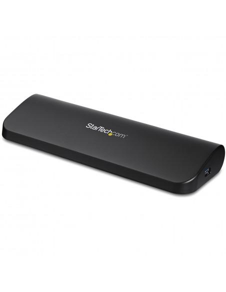 StarTech.com USB3SDOCKHDV kannettavien tietokoneiden telakka ja porttitoistin Langallinen USB 3.2 Gen 1 (3.1 1) Type-B Musta Sta