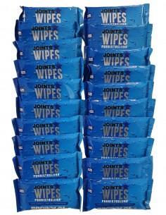 JOINTS Wipes - Puhdistusliina desinfiointiin 80kpl  WIPE20-Pack - 1