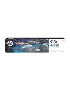 HP 913A 1 kpl Alkuperäinen Perusvärintuotto Syaani Hp F6T77AE - 1