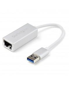 StarTech.com USB 3.0 till Gigabit-nätverksadapter - silver Startech USB31000SA - 1