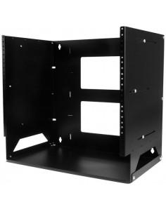 StarTech.com Väggmonterbart serverrack med inbyggd hylla - solitt stål 8U Startech WALLSHELF8U - 1