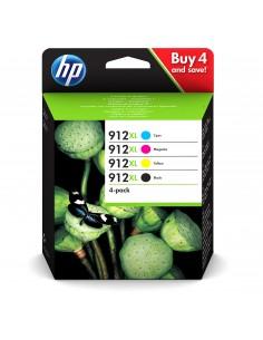 HP 912XL 4 pc(s) Original High (XL) Yield Black, Cyan, Magenta, Yellow Hq 3YP34AE#301 - 1