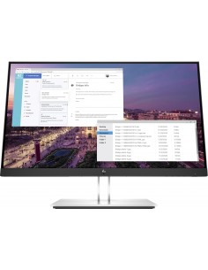 "HP E-Series E23 G4 58.4 cm (23"") 1920 x 1080 pixels Full HD LCD Black, Silver Hp 9VF96AA - 1"