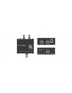 Kramer Electronics VM-2UX linjeförstärkare för video Svart Kramer 10-80440090 - 1