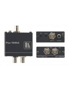 Kramer Electronics PT-102VN linjeförstärkare för video 430 MHz Svart Kramer 90-102090 - 1