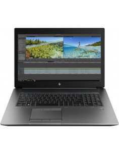 "HP ZBook 17 G6 Mobiilityöasema 43.9 cm (17.3"") 1920 x 1080 pikseliä 9. sukupolven Intel® Core™ i7 32 GB DDR4-SDRAM 512 SSD Hp 6T"