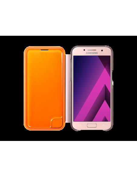 samsung-ef-fa320-matkapuhelimen-suojakotelo-avattava-kotelo-vaaleanpunainen-3.jpg