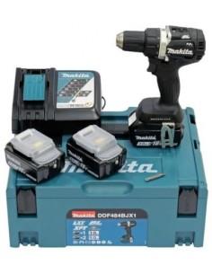 Makita 18v Bl Lxt Cordless Drill Driver Makita DDF484BJX1 - 1