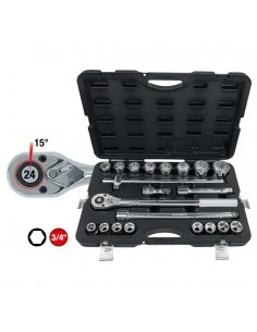 """KS Tools 3/4"""" Socket Set 21..."""