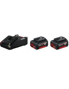 Bosch 1 600 A01 9S0 batteri och laddare för motordrivet verktyg Set med Bosch 1600A019S0 - 1