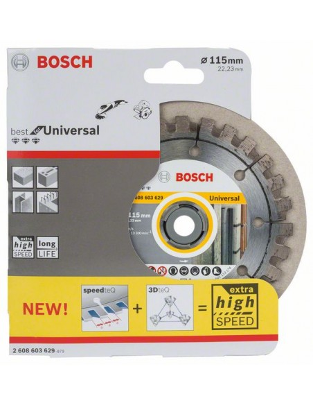 Bosch 2 608 603 629 cirkelsågsblad 11.5 cm 1 styck Bosch 2608603629 - 2