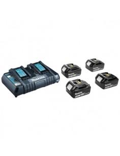 Makita 197626-8 batteri och laddare för motordrivet verktyg Set med Makita 197626-8 - 1