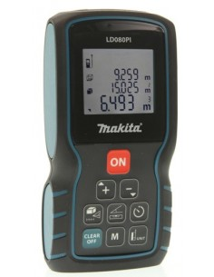 Makita LD080PI etäisyysmittari Musta, Sininen 80 m Makita LD080PI - 1