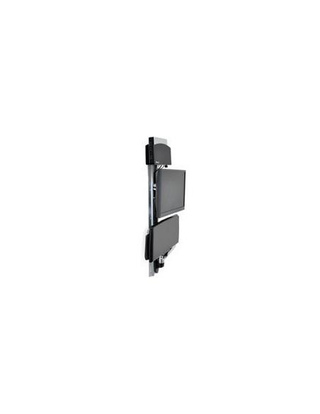"Ergotron LX Wall Mount System 68.6 cm (27"") Black, Silver Ergotron 45-253-026 - 3"